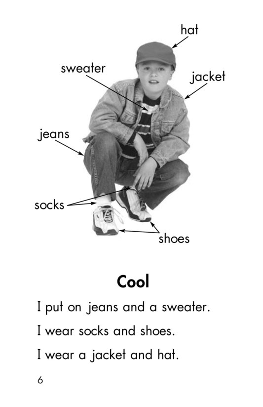 Book Preview For My Clothes Page 6