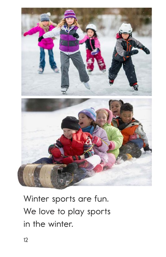 Book Preview For Winter Sports Page 12
