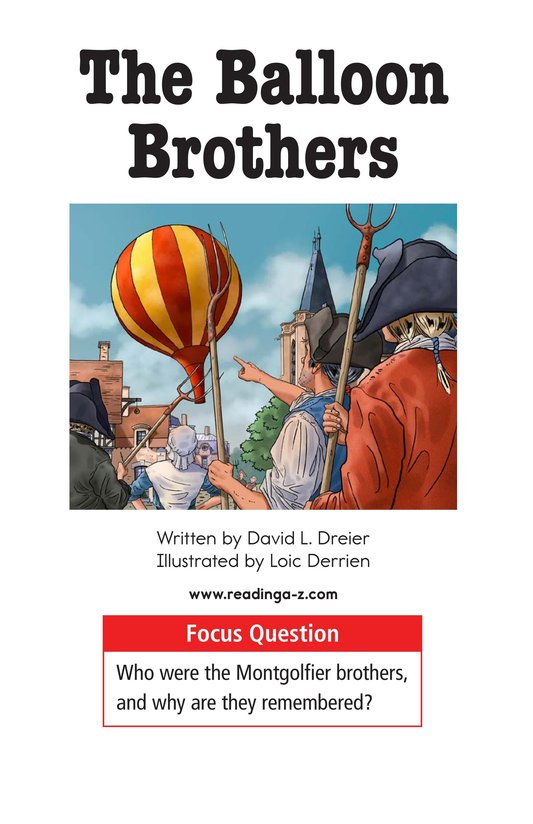 Book Preview For The Balloon Brothers Page 1