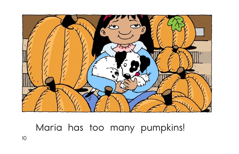 Book Preview For Maria Counts Pumpkins Page 10