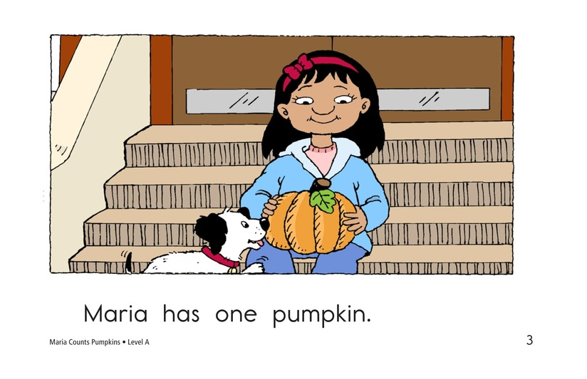 Book Preview For Maria Counts Pumpkins Page 3