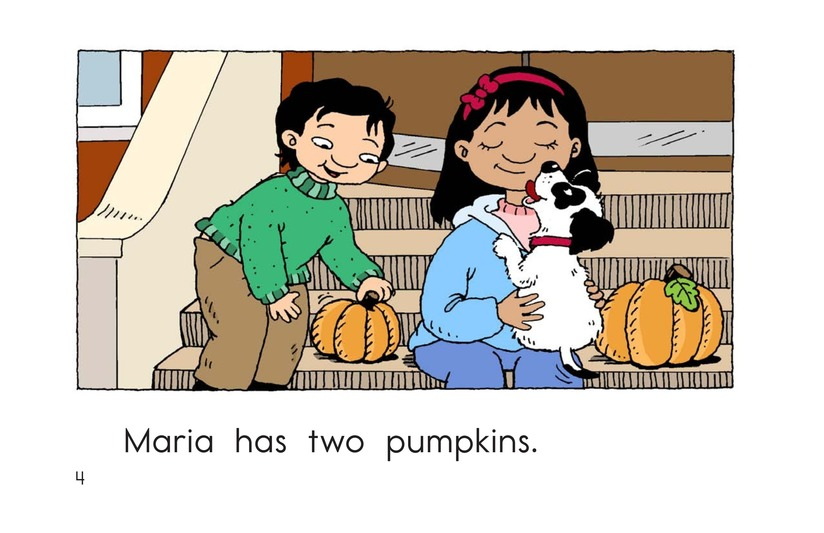 Book Preview For Maria Counts Pumpkins Page 4