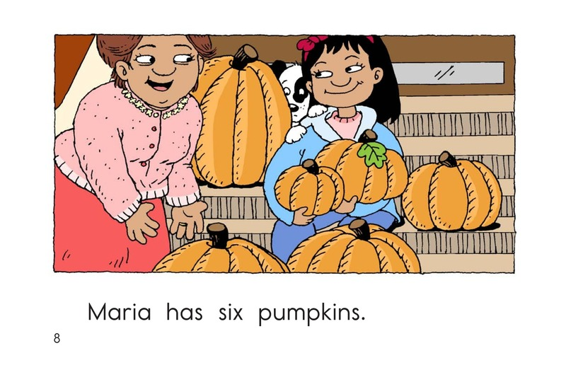 Book Preview For Maria Counts Pumpkins Page 8