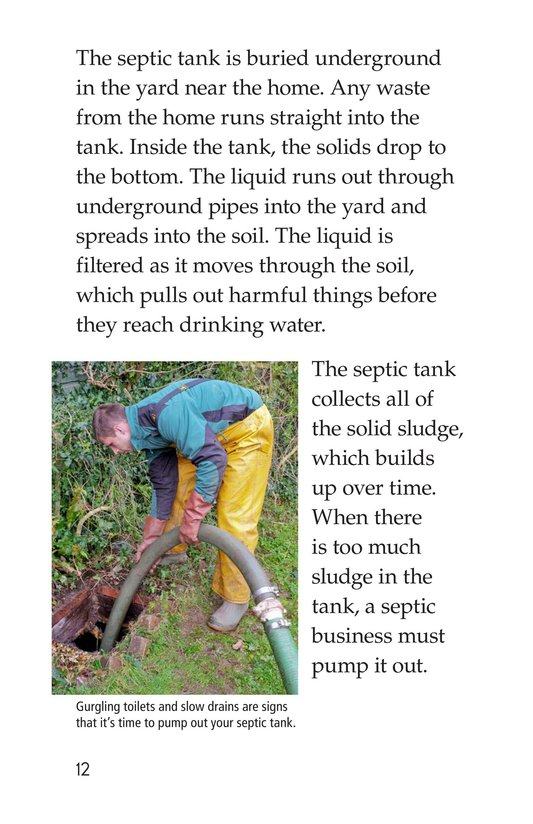 Book Preview For What Happens When You Flush? Page 12