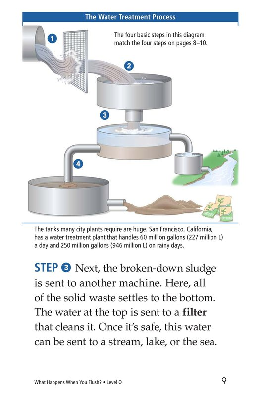 Book Preview For What Happens When You Flush? Page 9