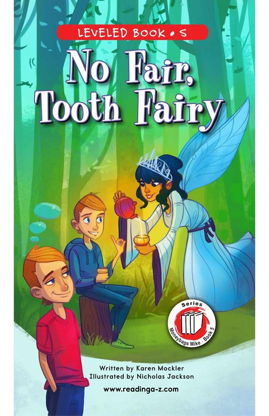 Book Preview For Book 5: No Fair, Tooth Fairy Page 0