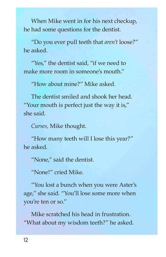 Book Preview For Book 5: No Fair, Tooth Fairy Page 12