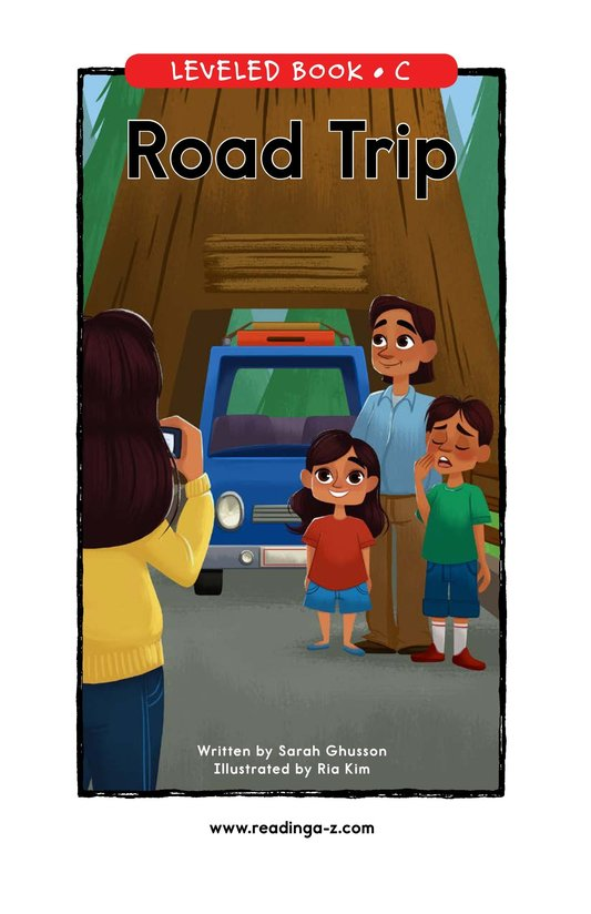 Book Preview For Road Trip Page 0