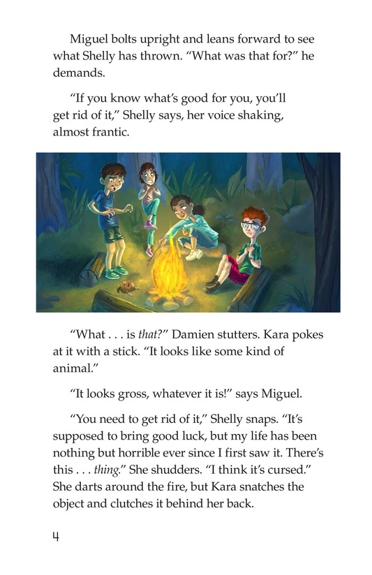 Book Preview For The Monkey's Paw Page 4