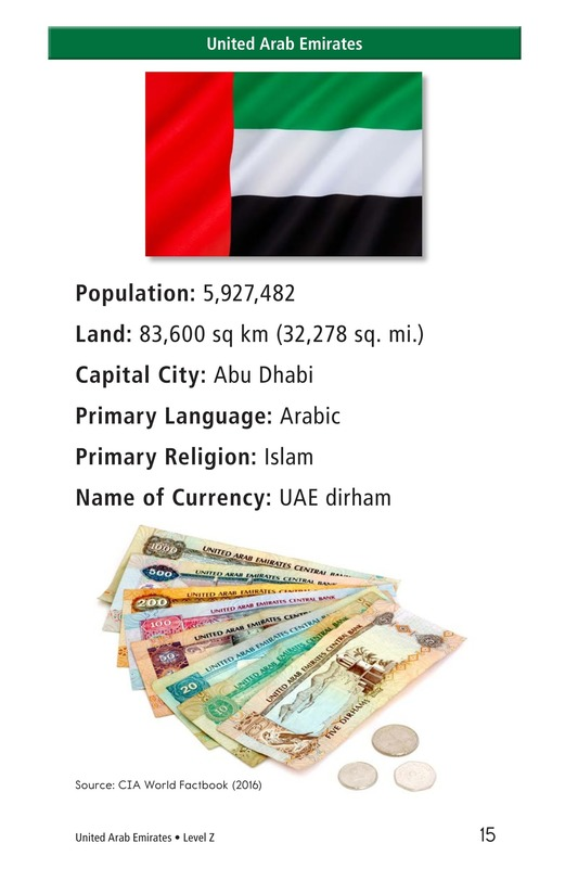 Book Preview For United Arab Emirates Page 15