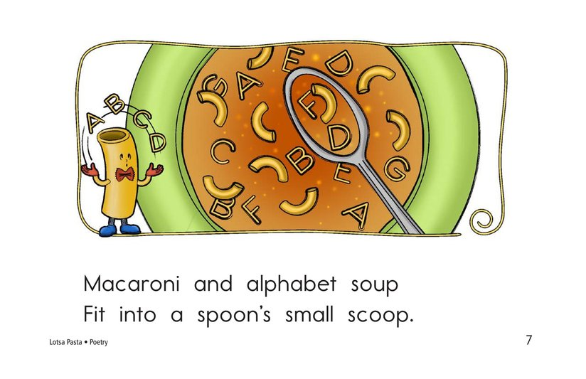 Book Preview For Lotsa Pasta Page 7