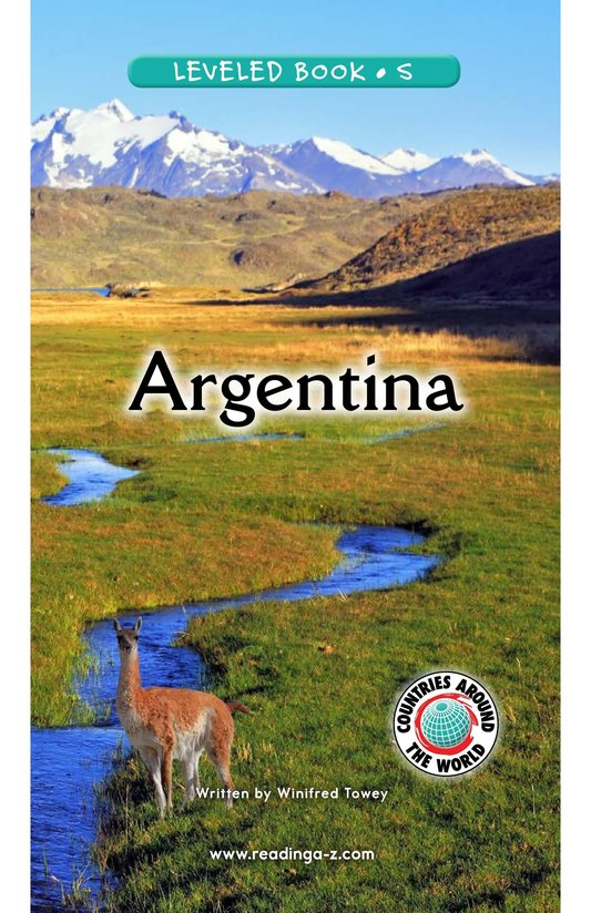 Book Preview For Argentina Page 0