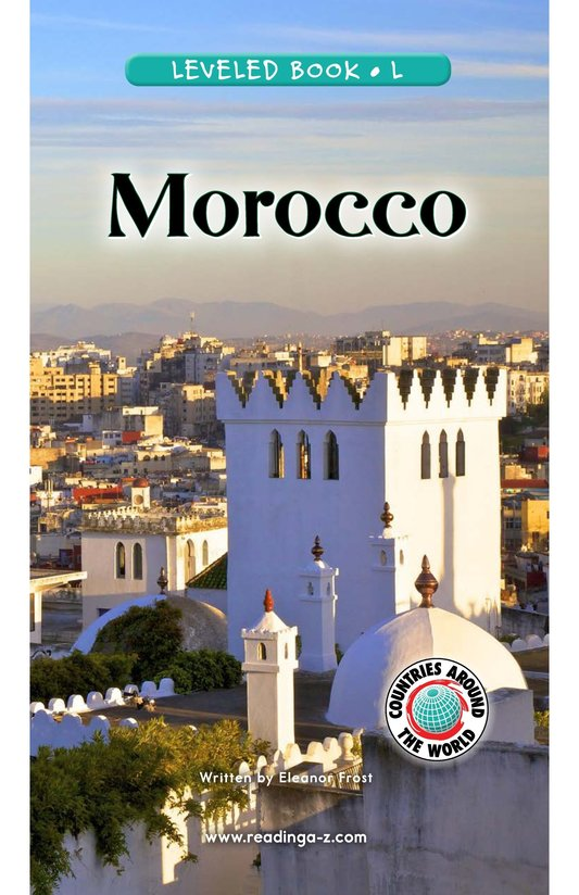 Book Preview For Morocco Page 0