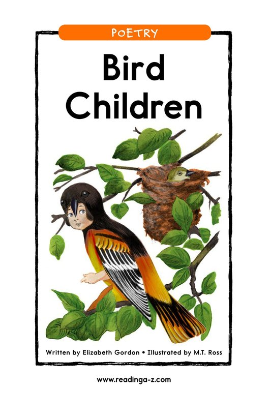 Book Preview For Bird Children Page 1