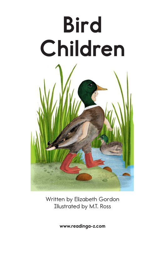 Book Preview For Bird Children Page 2