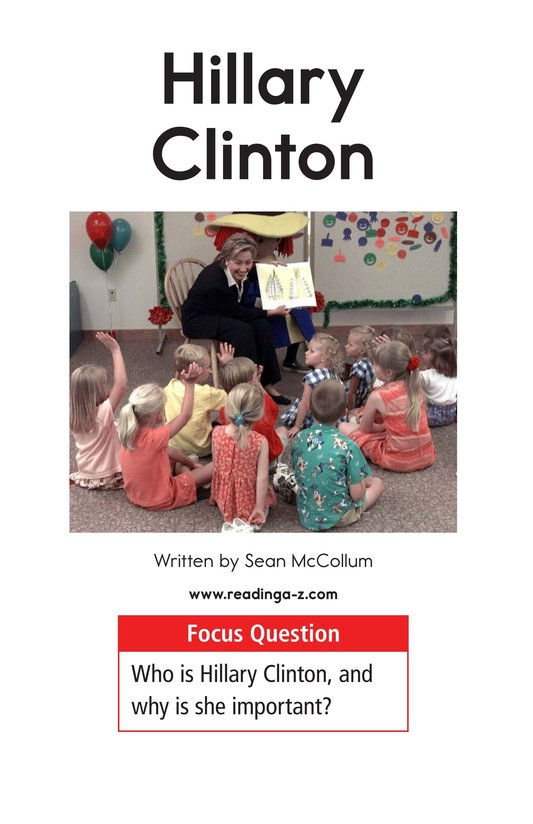 Book Preview For Hillary Clinton Page 1