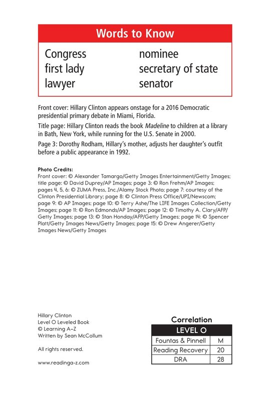 Book Preview For Hillary Clinton Page 2