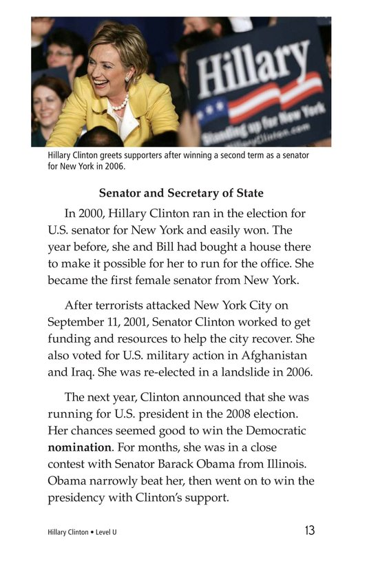 Book Preview For Hillary Clinton Page 13
