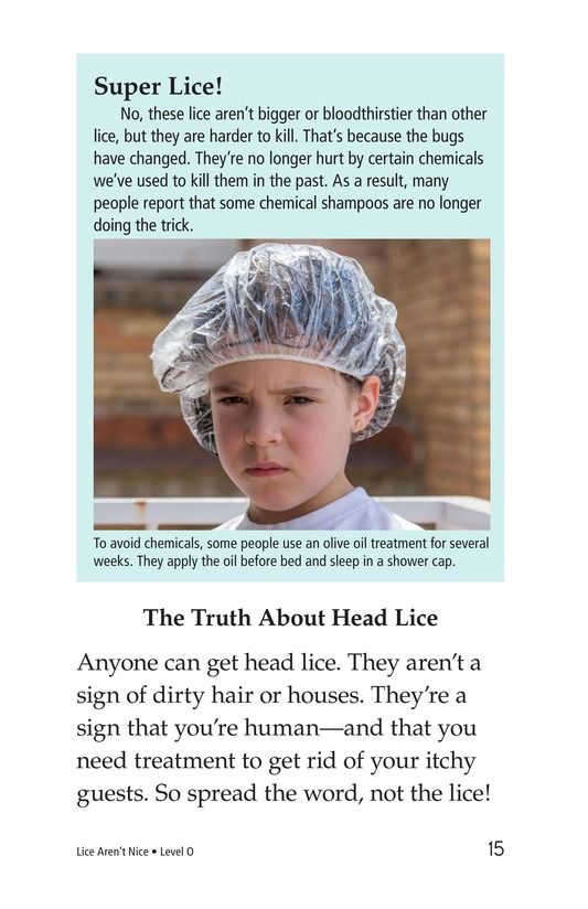 Book Preview For Lice Aren't Nice Page 15