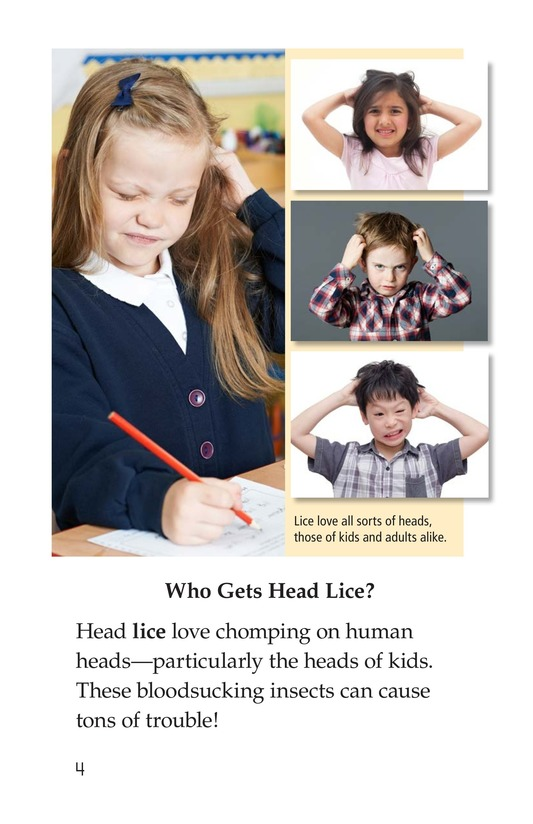 Book Preview For Lice Aren't Nice Page 4