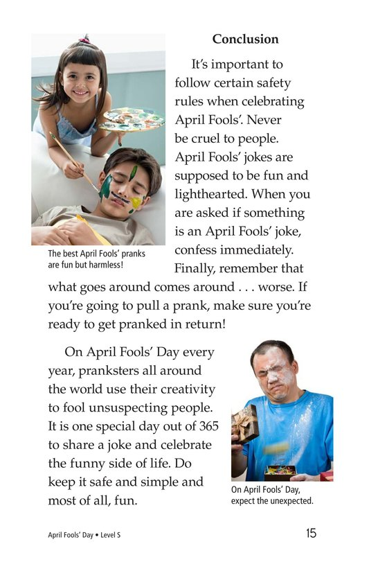 Book Preview For April Fools' Day Page 15