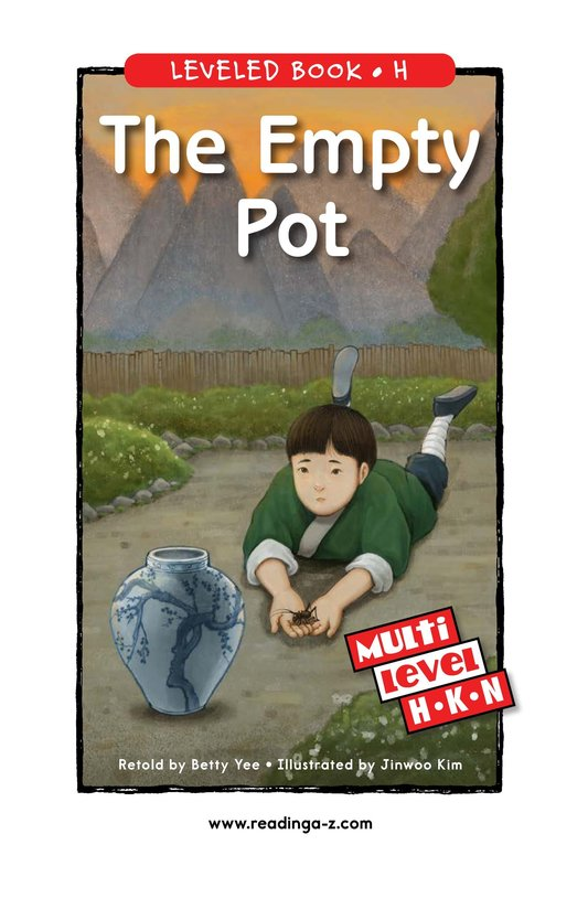Book Preview For The Empty Pot Page 0