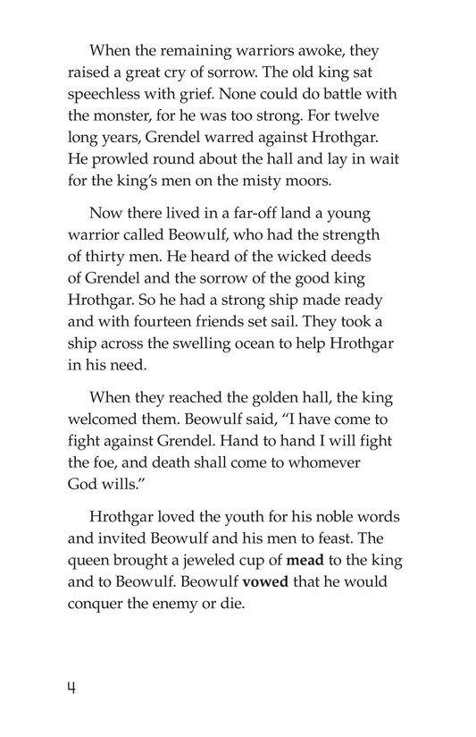 Book Preview For Beowulf Page 4