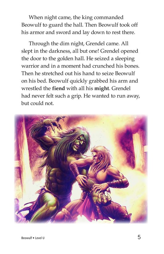 Book Preview For Beowulf Page 5
