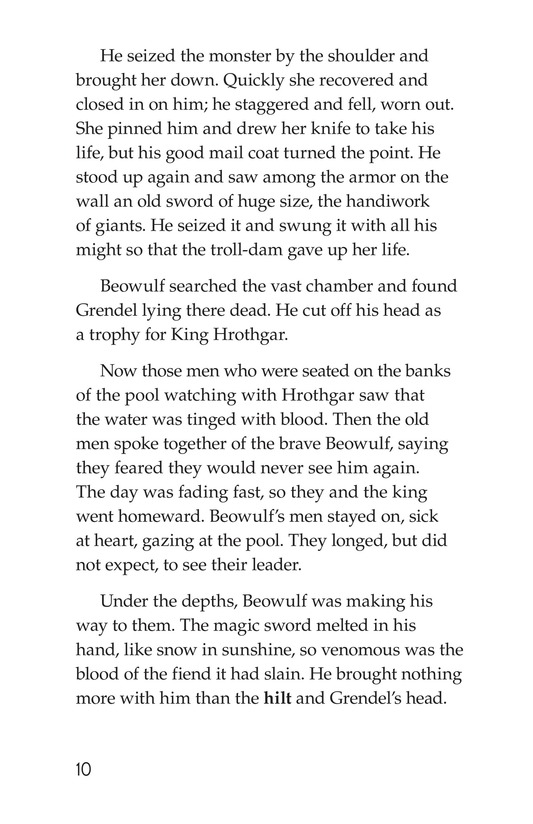 Book Preview For Beowulf Page 10