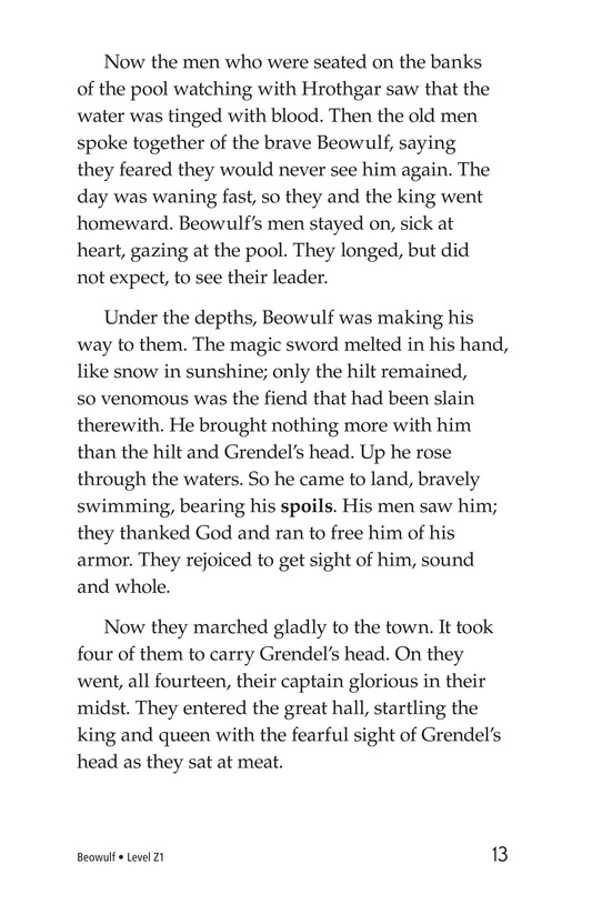 Book Preview For Beowulf Page 13