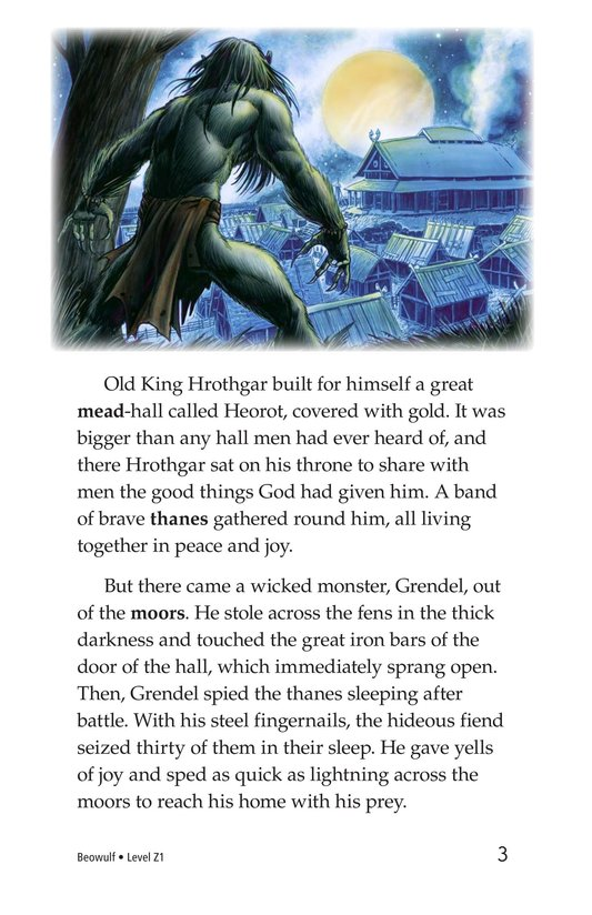 Book Preview For Beowulf Page 3