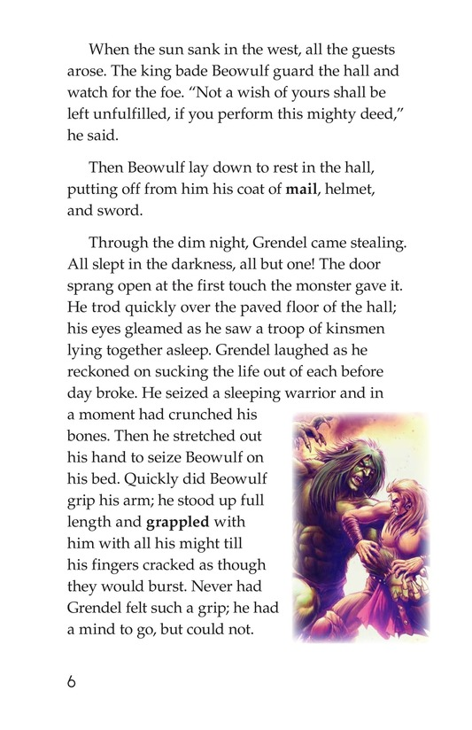 Book Preview For Beowulf Page 6
