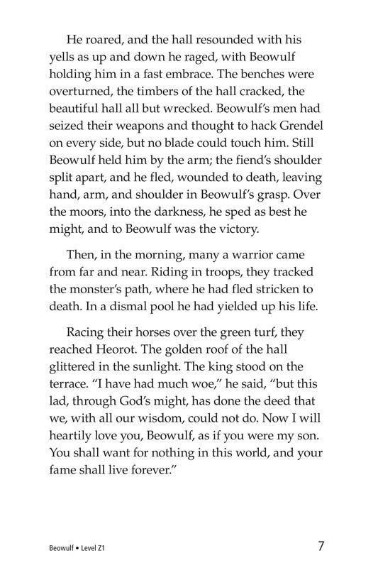 Book Preview For Beowulf Page 7