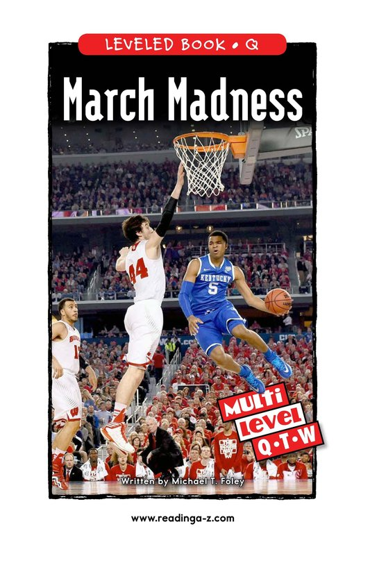 Book Preview For March Madness Page 0