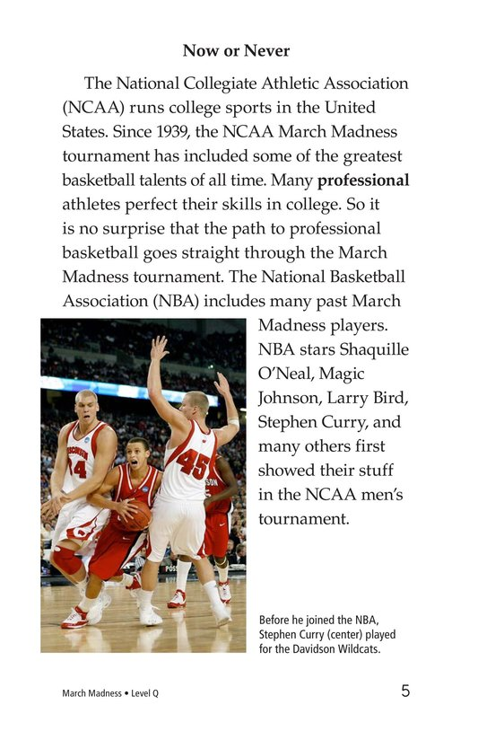 Book Preview For March Madness Page 5