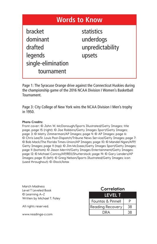 Book Preview For March Madness Page 2