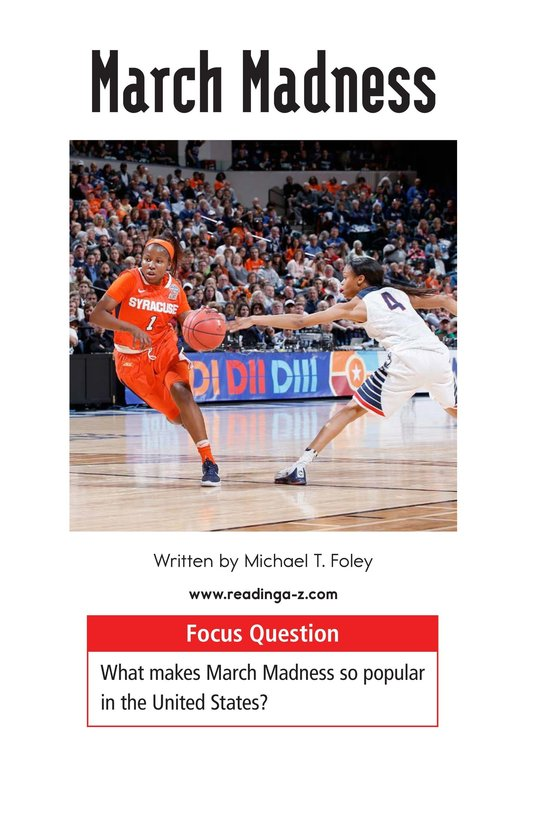 Book Preview For March Madness Page 1