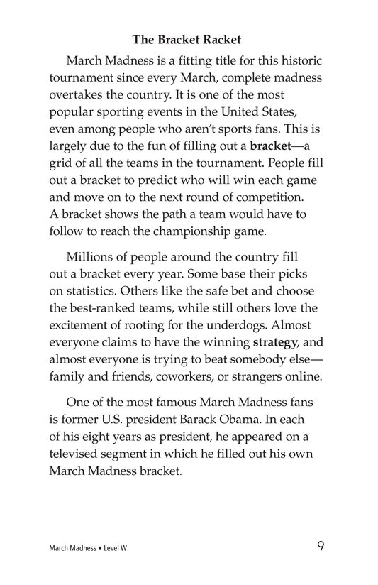 Book Preview For March Madness Page 9