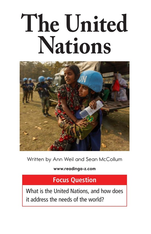 Book Preview For The United Nations Page 1