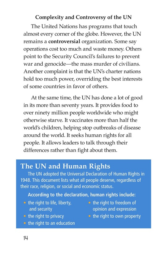 Book Preview For The United Nations Page 14