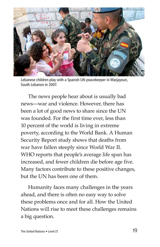 Book Preview For The United Nations Page 19