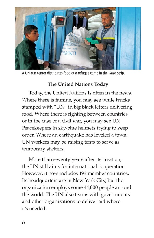 Book Preview For The United Nations Page 6