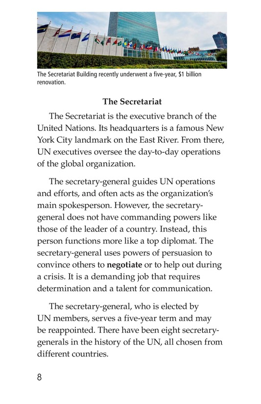 Book Preview For The United Nations Page 8