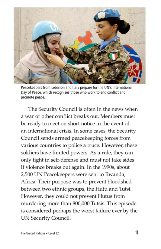 Book Preview For The United Nations Page 11