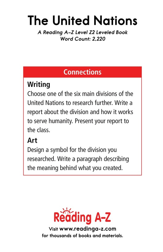 Book Preview For The United Nations Page 21