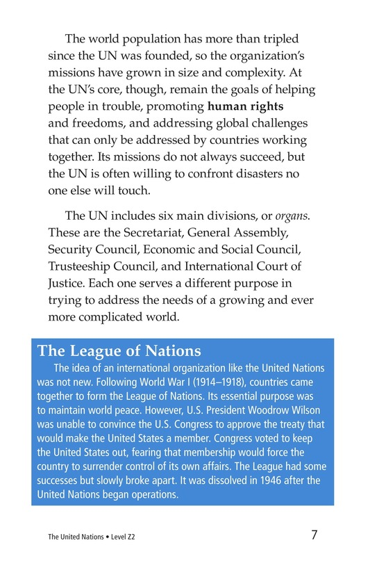 Book Preview For The United Nations Page 7