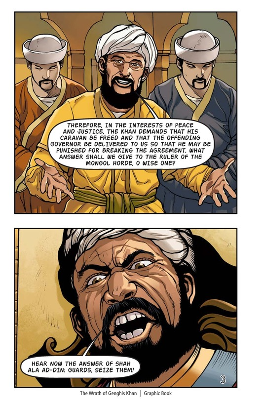 Book Preview For The Wrath of Genghis Khan Page 4