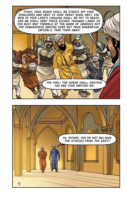 Book Preview For The Wrath of Genghis Khan Page 5