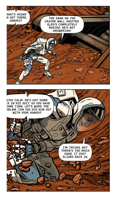 Book Preview For Just Another Day on Mars Page 10