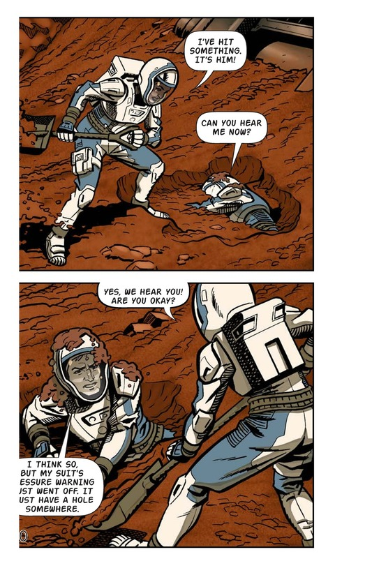 Book Preview For Just Another Day on Mars Page 12